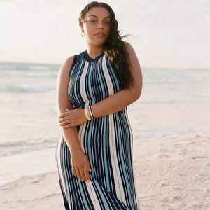 Maeve Anthropologie Lisanne Sweater Maxi Dress 1X